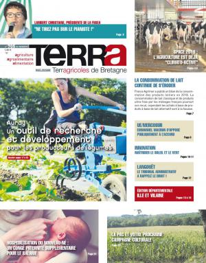 La couverture du journal Terra n°556 | octobre 2016